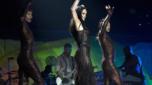 Rihanna gyönyörű az új turnéfotóin