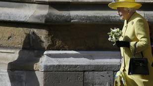 II. Erzsébetet majdnem elfújta a szél