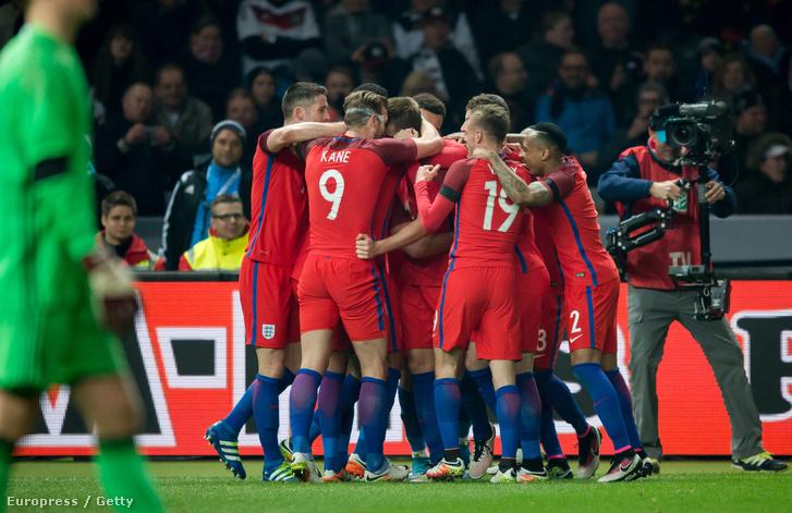 Anglia olyan erős, hogy akár az Eb-t is megnyerheti
