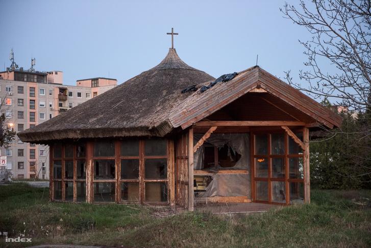 A használaton kívüli Szent Péter-kápolna
