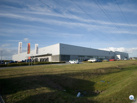 A magdeburgi gyár - csak a kerítésen kívülről fotózhattam