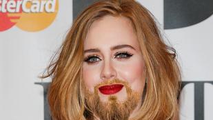 Szakálla nőtt Adele-nek, Larry a neve