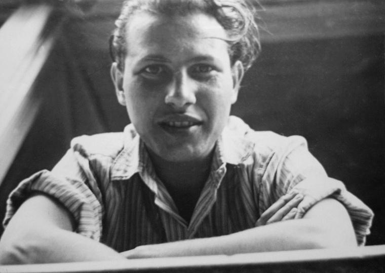 A fiatal Kertész Imre