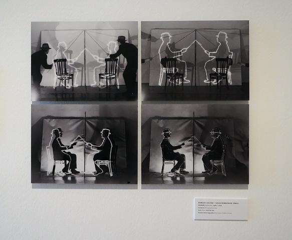 Érmezei Zoltán életmű-kiállítása a Ludwig Múzeumban