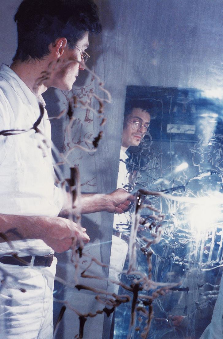 Érmezei Zoltán – Rauschenberger János: A képzet síkmásai, 1988