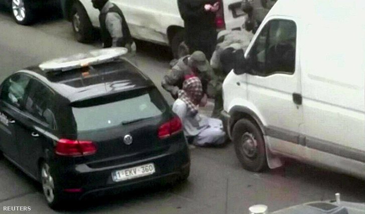 Salah Abdeslam elfogása