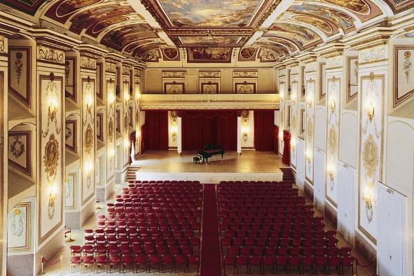 Haydn-terem az Kismartoni Esterházy-kastélyban