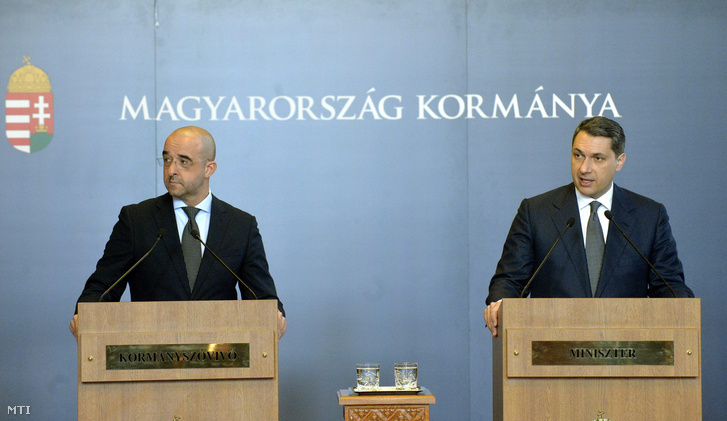 Kovács Zoltán és Lázár János