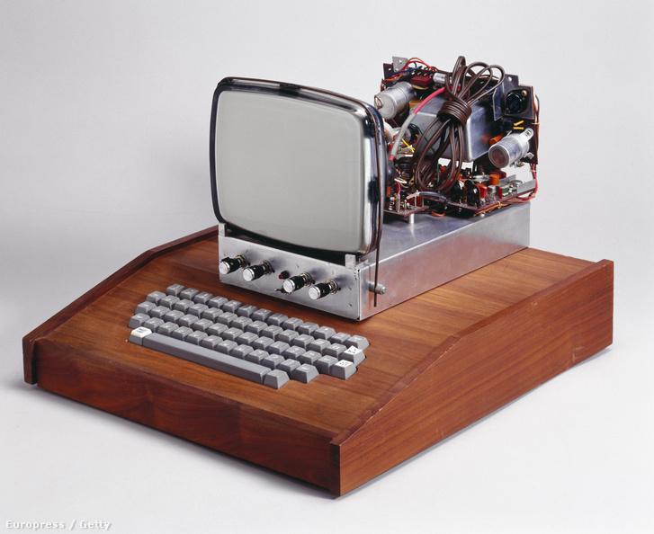 Az első számítógép, amit az Apple gyártott