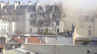 Valami jó nagyot robbant Párizsban
