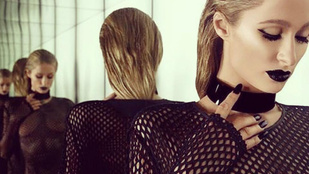 Paris Hiltonon alig van ruha