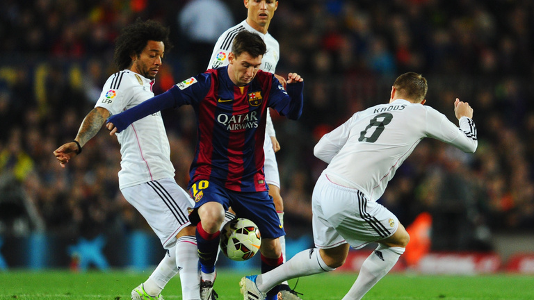 Barcelona-Real Madrid 1-2