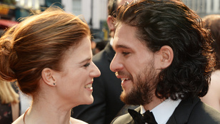 Kit Haringtont kényszerítette a menyasszonya, hogy Jon Snow-ként menjen buliba