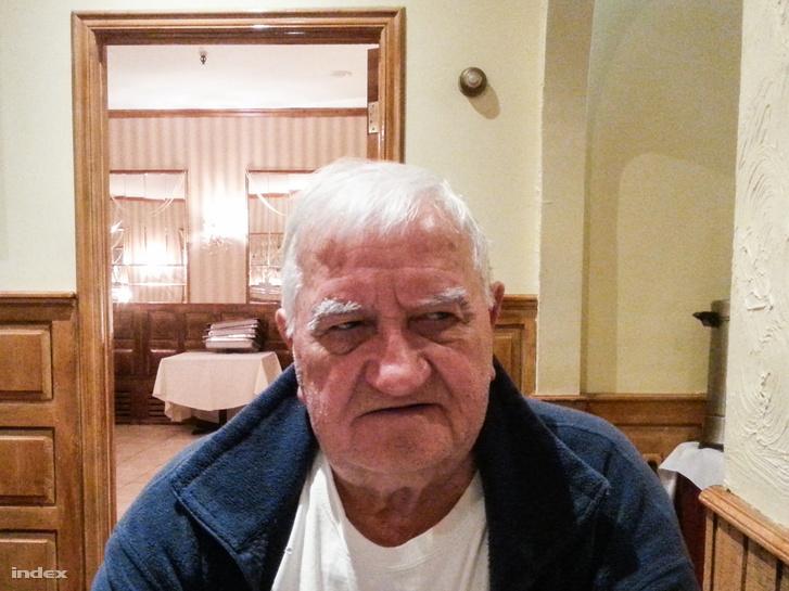 Szalay Tibor most, ebben az étteremben is ő dolgozott, a tulajjal spanyolul beszélt