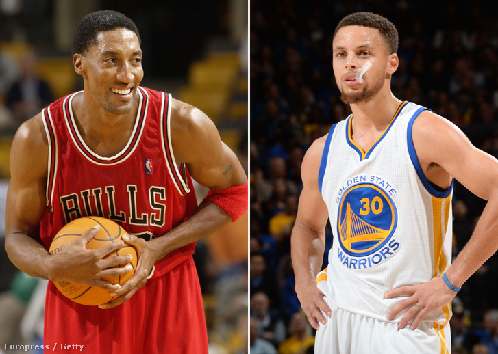 Scottie Pippen, Stephen Curry