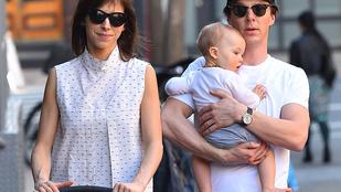 Benedict Cumberbatch kisfia egyszerűen ennivaló
