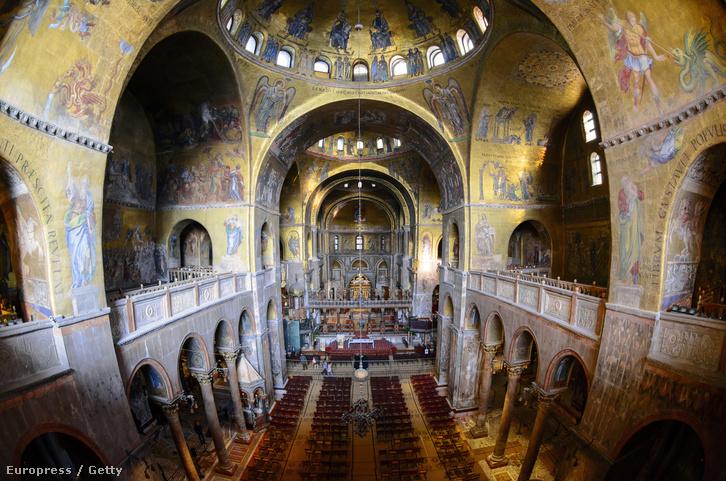 A velencei Szent Márk Székesegyház kóruserkélyei