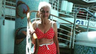 Pontosan így kell viselni a bikinit 90 évesen