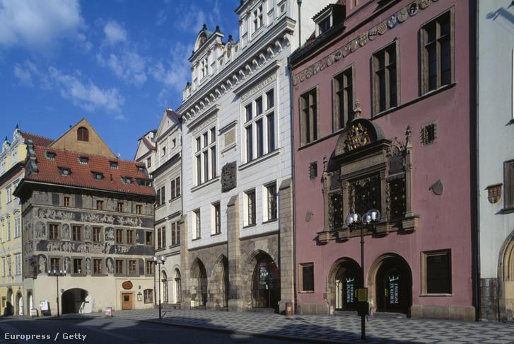 A prágai történelmi városháza