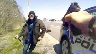 Ölj meg – kérte a férfi, mire a rendőr lelőtte
