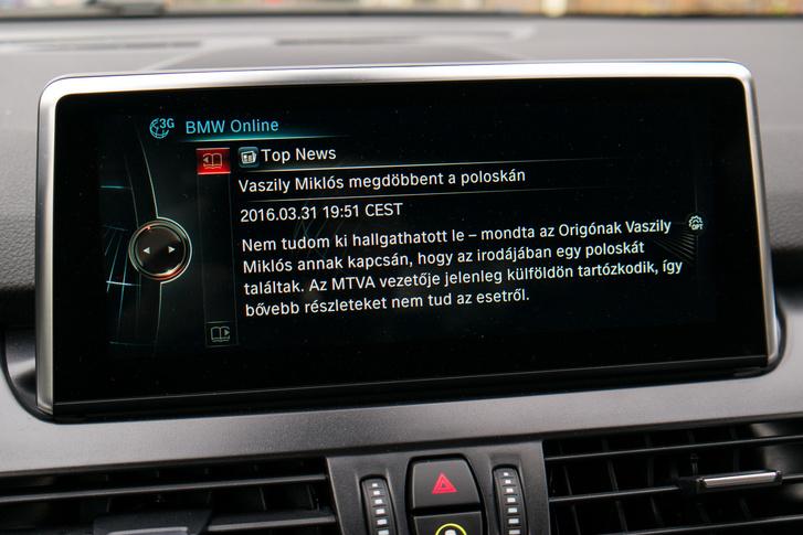 A BMW Online tulajdonképpen a teletext, csak zene nélkül és szép betűkkel. Ja, és ez lassabb