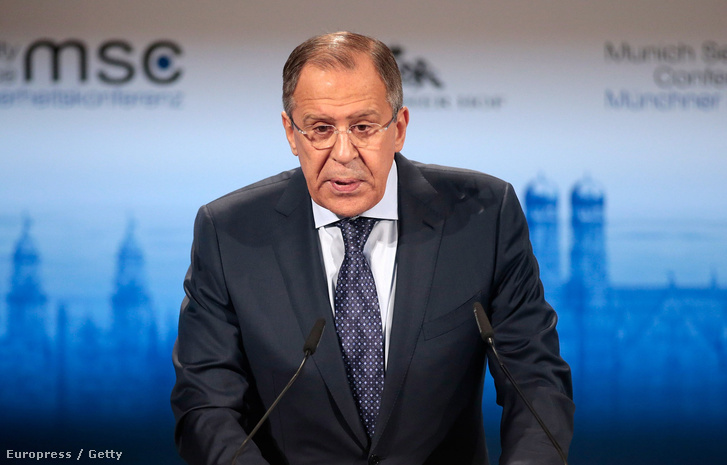 Szergej Lavror, orosz külügyminiszter