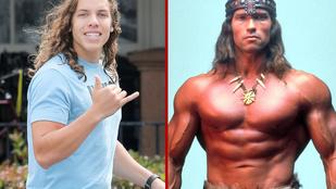 Ikertornyok: Arnold Schwarzenegger és fia