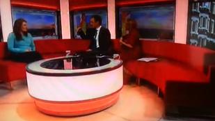 Rémséges árny suhant át a BBC reggeli műsorának stúdióján
