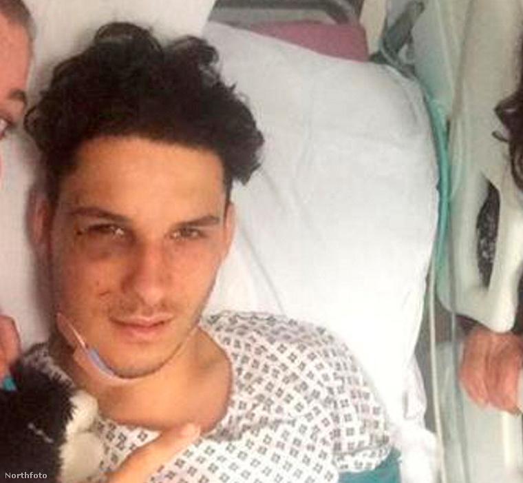 Mentesh Da Silva a kórházban
