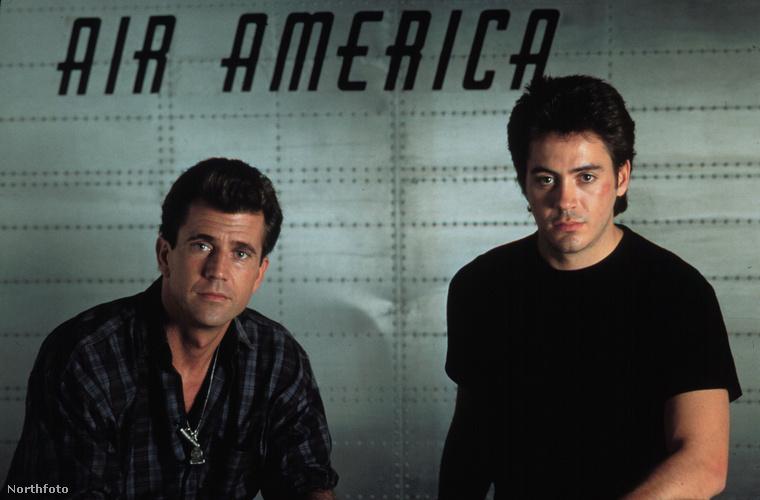 Robert Downey Jr. vicces az Air Americában