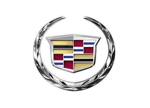 Az új Cadillac logó.