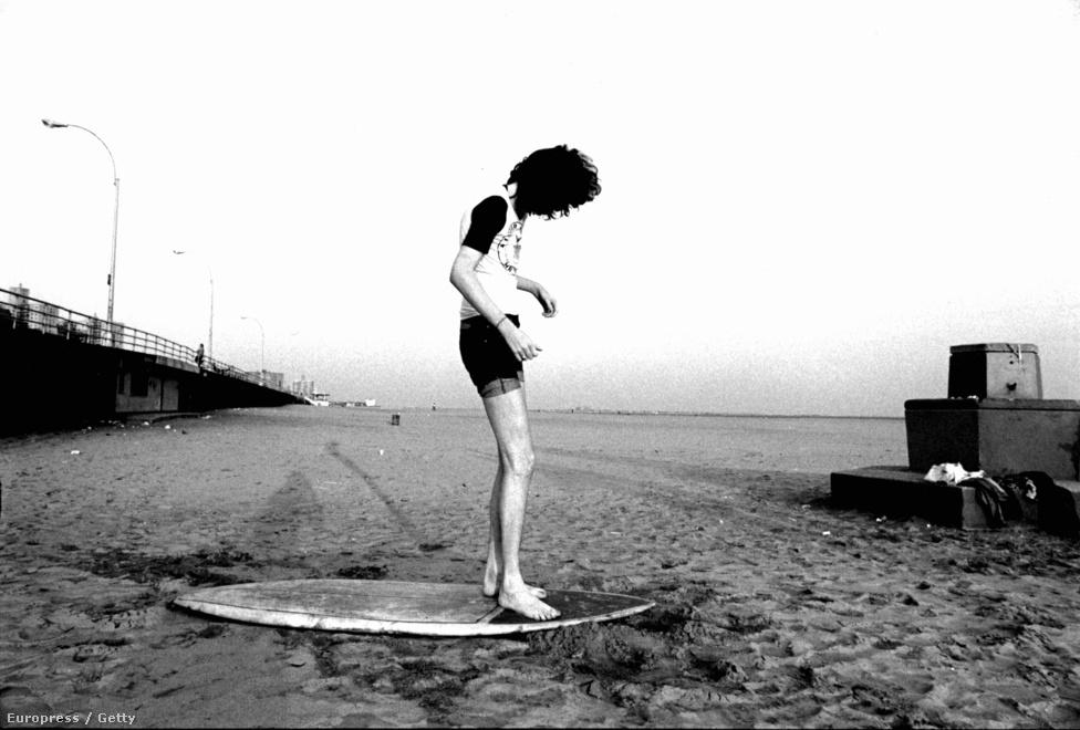 Ugyan a képen Joey látható, a zenekar bevallása szerint Dee Dee volt az egyetlen tag, aki szeretett strandra járni. New Yorkban ez volt a Rockaway Beach nevű partszakasz, és ez, illetve a Beach Boys zenéje inspirálta Dee Dee-t a harmadik lemezükön szereplő Rockaway Beach c. daluk megírásához, ami a Ramones történetének legsikeresebb kislemeze lett, de még így is csak a 66. helyig jutott a 100-as Billboard-listán.