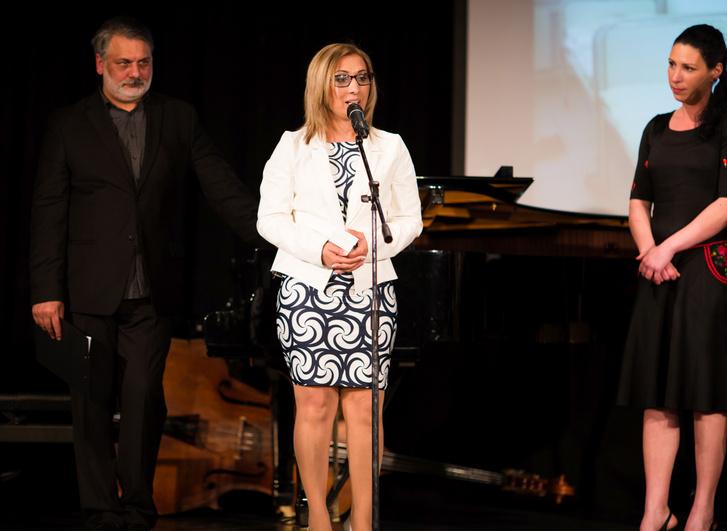 Jónás Tímea, az Aranypánt-díj kitüntetettje