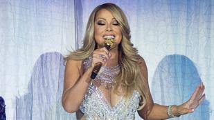Eszetlen sok pénzre biztosította hangját és lábát Mariah Carey