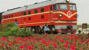 Vonattal szelfizte a halálba magát a 19 éves lány