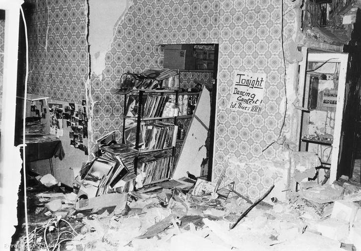 A La Belle klub az 1986. április 5-ei terrortámadás után.
