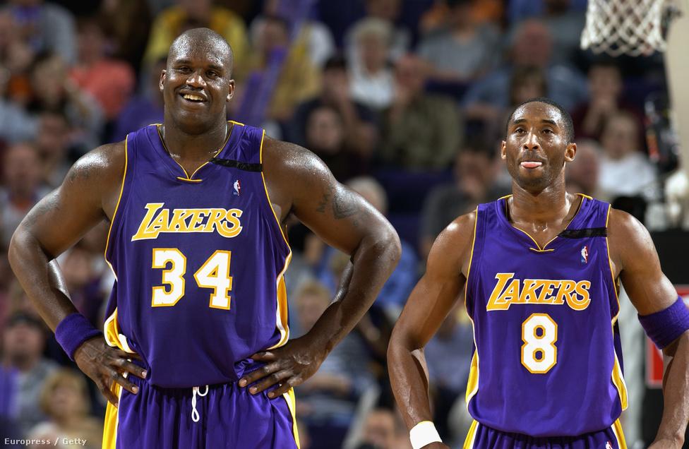 A szintén NBA-legenda és Lakers-csapattárs Shaquille O'Neallel 1996 és 2004 között játszott együtt, de egy idő után elég komoly rivalizálás, majd konfliktus alakult ki köztük. Shaq nehezen viselte el, hogy Kobe túl önző a pályán. Az egész odáig fajult, hogy Bryant egy interjúban dagadtnak és lustának hívta a centert, miután korábban O'Neal azt javasolta a sérülés után formáját kereső sztárjátékosnak, hogy hagyatkozzon inkább a csapattársaira, és ne akarjon mindent egyedül megoldani. A csapaton belüli rivalizálás akkor ért véget, amikor O'Nealt elcserélte a Lakers, másnap Bryanttel 136 millió dolláros szerződést kötöttek.