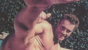 A nap kérdése: szexi Jean-Claude Van Damme talpa?