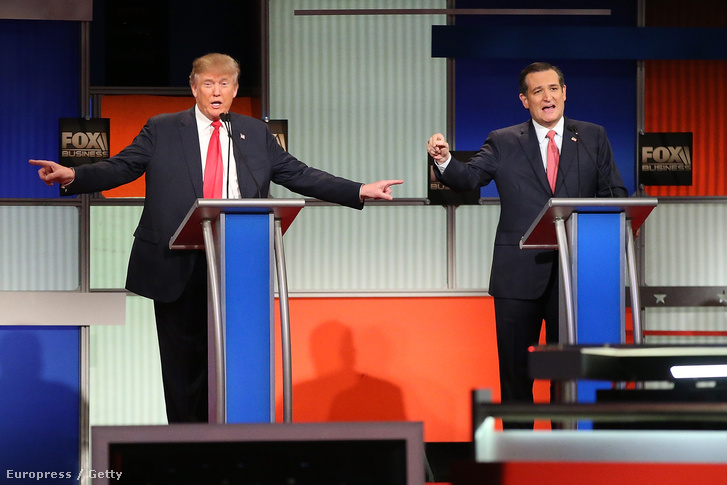Donald Trump és Ted Cruz