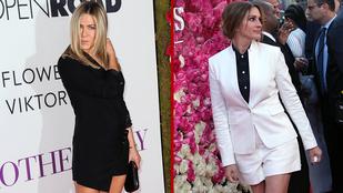 Jennifer Anistonnak vagy Julia Roberts-nek áll jobban a lábmutogatás?