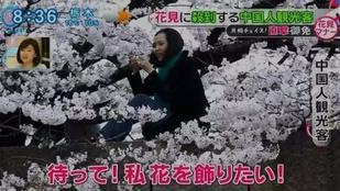 Japán jelképeket gyaláznak meg a kínai turisták
