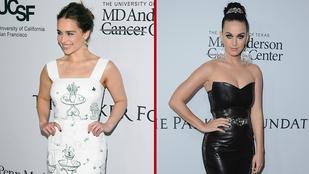 Katy Perry és Emilia Clarke dögfaktorát nehéz versenyeztetni