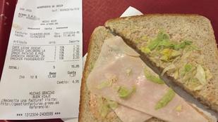 Ibizán se nagyon vegyen reptéri szendvicset!
