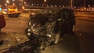 Több ember megsérült a Szent Gellért Rakparton történt balesetben