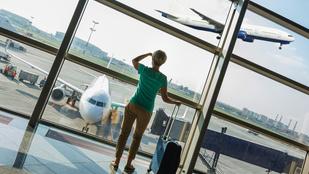 Azt hiszi nem történhet gond, miután leszállt a repülő?