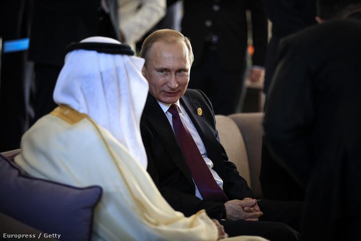 Putyin és a szaudi király beszélgetnek a törökországi G20-on