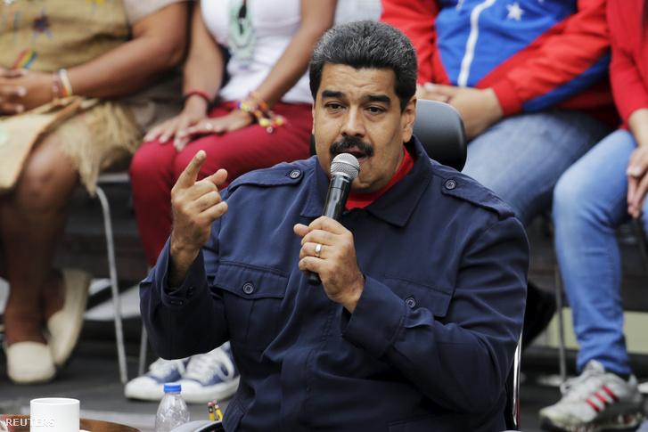 Nicolas Maduro venezuelai elnök