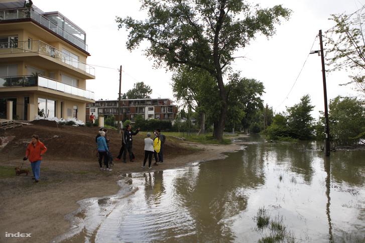 A Római-part a 2013-as árvíz idején