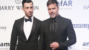 Ricky Martin titokban összeházasodott a pasijával