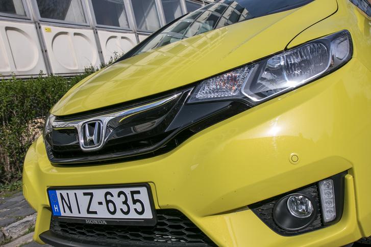 Karakteres az új Honda-arc, meg kell hagyni